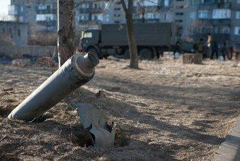Зона военных действий на востоке Украины