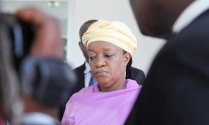 Special Representative on Sexual Violence in Conflict Zainab Hawa Bangura.
