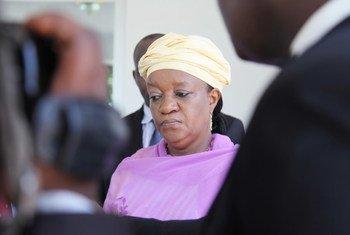La Représentante spéciale sur la violence sexuelle dans les conflits, Zainab Hawa Bangura. Photo MONUSCO/Myriam Asmani