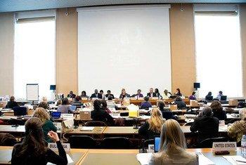 Зал заседания Комитета ООН