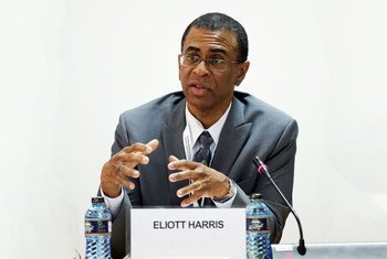 Elliott Harris, UN Assistant Secretary-General and Head of the UNEP New York Office.
