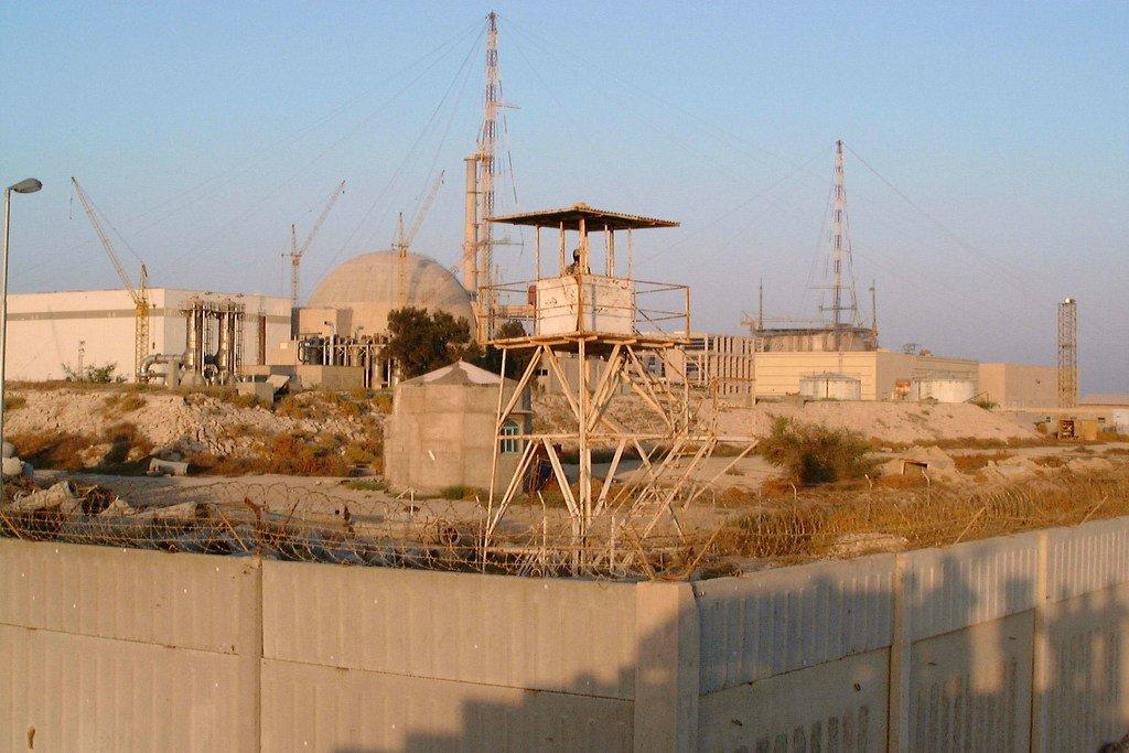 伊朗布舍尔核电站。