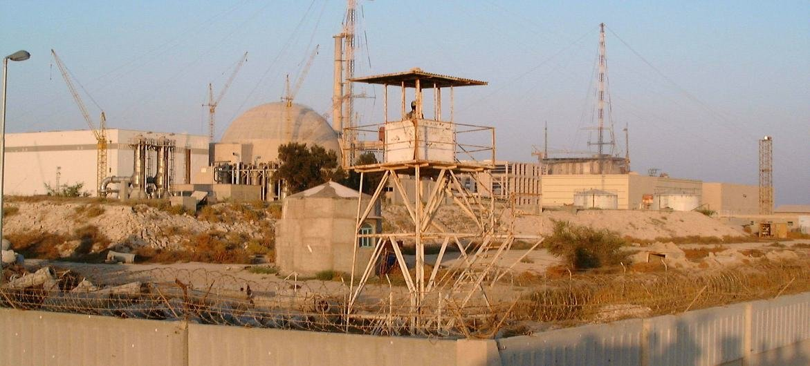 Instalação nuclear de Busher, no Irã.