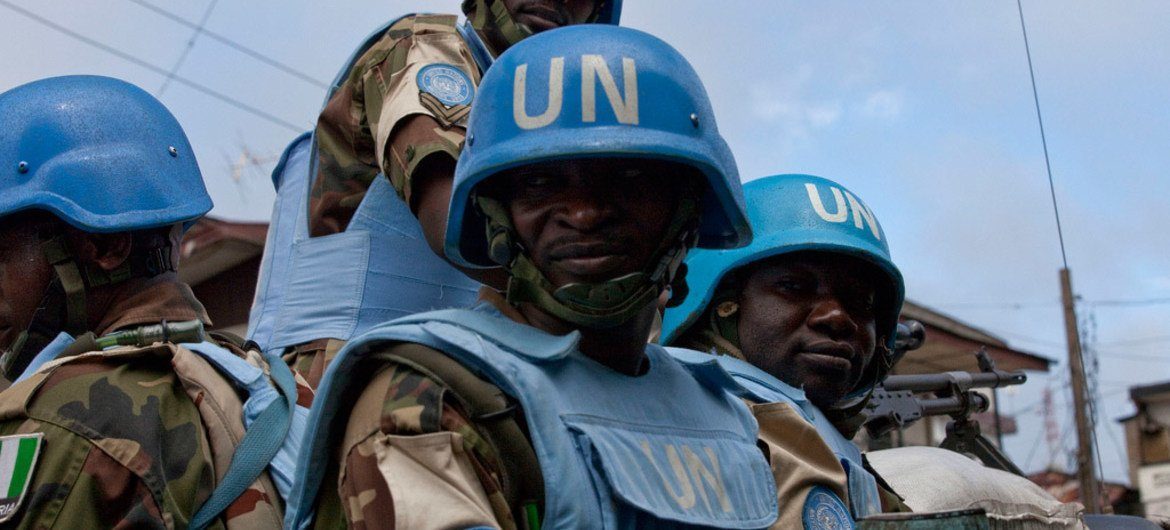 UN peacekeeping mission in Liberia handing over security
