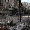 Violencia en Yarmouk.