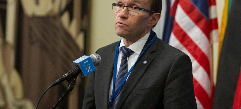 秘书长塞浦路斯问题特别顾问艾德。联合国图片/Loey Felipe