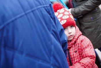 Los civiles sufren la violencia en Ucrania. Foto: UNICEF Ucrania/Pavel Zmey