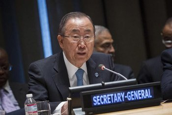 El Secretario General de la ONU, Ban Ki-moon Foto: ONU/Loey Felipe