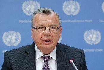 联合国毒品和犯罪问题办公室执行主任费多托夫资料图片。联合国图片/JC McIlwaine