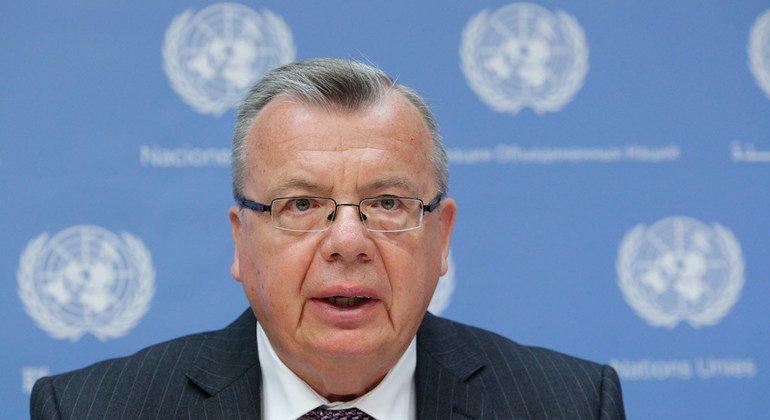 Исполнительный директор Управления ООН по наркотикам и преступности Юрий Федотов