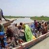 Miles de nigerianos han huido de la violencia de Boko Haram cruzando el Lago Chad. Foto: IRC