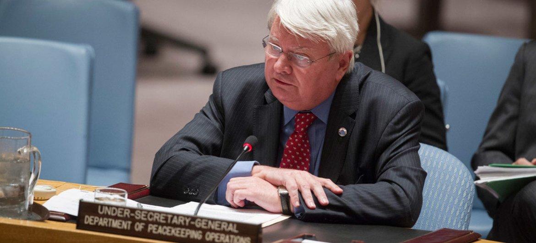 заместитель Генерального секретаря ООН по миротворческим операциям Эрве Ладсус.  Фото ООН
