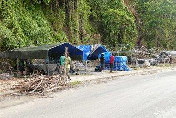 Devastación en Vanuatu. Foto de archivo: PNUD Pacífico