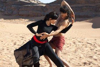"Frieda Pinto and Reece Ritchie star in Relativity Media's ""Desert Dancer"" – (Copyright Desert Dancer Productions Ltd. 2014)"