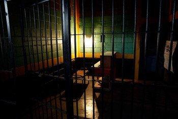 Imagen de una prisión en Honduras. Foto: ONU/Evan Schneider