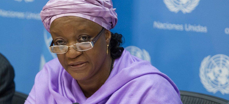 联合国内罗毕办事处总干事扎伊娜卜·班古拉
