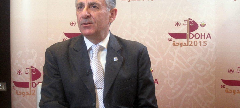 Le chef du Directorat du Comité contre le terrorisme du Conseil de sécurité (CTED), Jean-Paul Laborde. Photo : J. Bernard