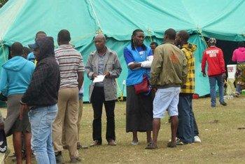 La violencia xenófoba en Sudáfrica está multiplicando la cantidad de desplazados a países vecinos. Foto: ACNUR/T. Machobane