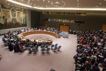 Le Conseil de sécurité de l'ONU. Photo ONU/Loey Felipe