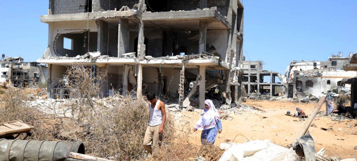 UNRWA says almost eight months after the announcement of the ceasefire, not a single totally destroyed home has been rebuilt in Gaza.