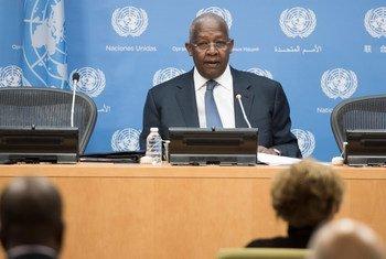 联大主席库泰萨资料图片。联合国图片/Mark Garten