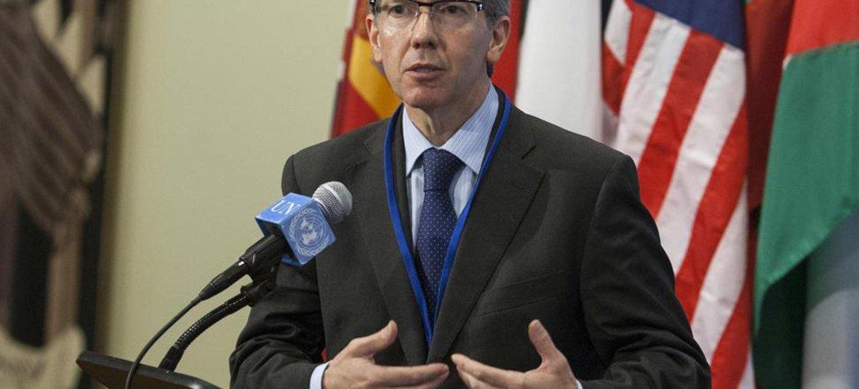 秘书长利比亚问题特别代表莱昂资料图片/Loey Felipe