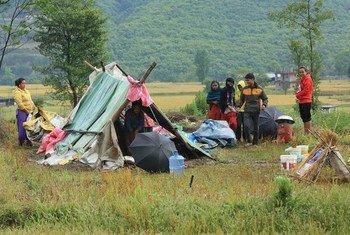 Des millions de gens sont affectés par le séisme au Népal. Photo PNUD Népal