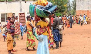 These Burundians in Rwanda's Bugesera reception centre fled across the border to escape from pre-election violence.