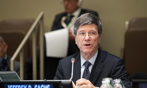Jeffrey Sachs, Director of the Center for Sustainable Development at Columbia University (file)