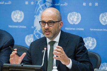 Robert Piper, Coordonnateur spécial adjoint des Nations Unies pour le processus de paix au Moyen-Orient. (ARCHIVES) Photo ONU/Loey Felipe