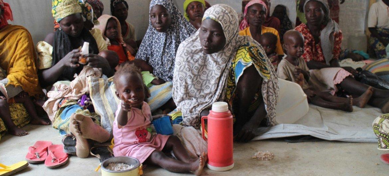 Нигерйцы, бежавшие в Камерун от «Боко харам». Фото ВВП/София Эндгал