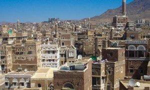 La vieille ville de Sanaa, au Yémen. Photo UNESCO/M. Gropa