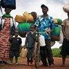 Burundeses llegan a Rwanda tras huir de la violencia en el país. Foto: ACNUR/Kate Holt