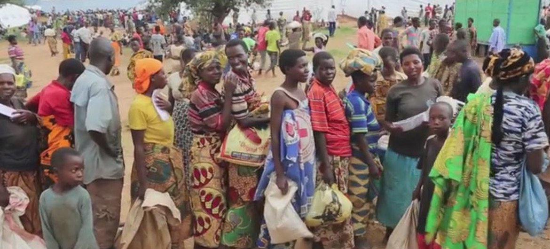 Le PAM assiste des dizaines de milliers de réfugiés du Burundi qui ont fui vers les pays voisins. Photo PAM