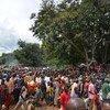 El ACNUR trata de reubicar a los miles de burundeses que están llegando a Tanzania huyendo de la violencia política. Foto: ACNUR/T. W Monboe