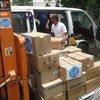 Durante la pausa humanitaria en Yemen, la OMS distribuirá unas 74 toneladas adicionales de medicamentos y suministros. Foto: OMS Yemen