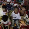 Indonesian fishermen have rescued hundreds of Bangladeshis and Rohingya from Myanmar in May, including these children.