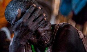 Des femmes et des enfants souffrant des violences dans l'Etat d'Unité, au Soudan du Sud. Photo UNICEF/Soudan du Sud/Sebastian Rich