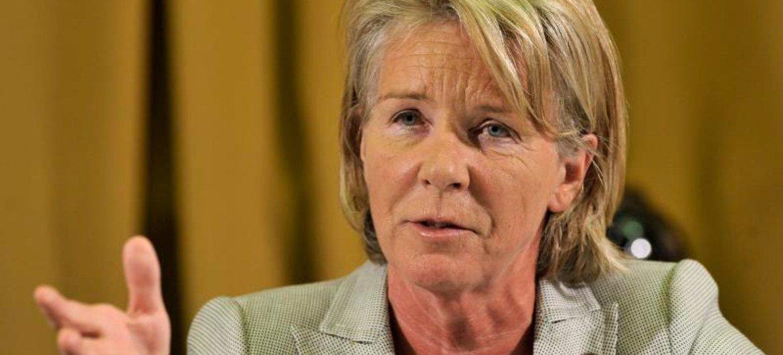 Relatora especial sobre venda e exploração sexuais de crianças, Maud de Boer-Buquicchio.