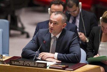 Специальный посланник ООН по Ближнему Востоку Николай Младенов  осудил нападение на палестинскую семью на Западном Берегу. Фото  ООН