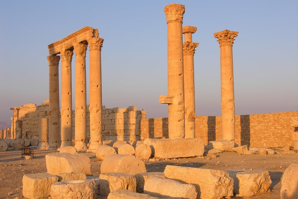 Sitio arqueológico de Palmyra, Siria. Foto: ©UNESCO/F. Bandarin