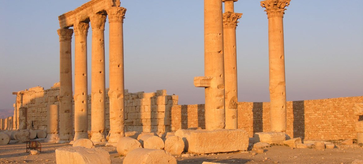 Unesco Team Assesses Damages To Syria S Palmyra World Heritage