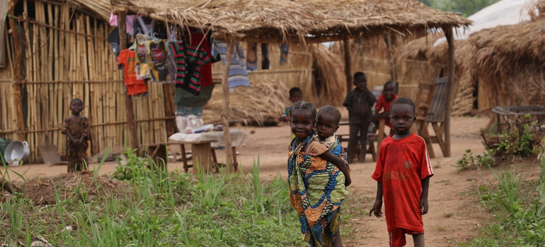 Des enfants centrafricains. Photo : OCHA / Gemma Cortes