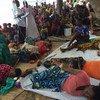 El equipo de UNICEF en Tanzania y sus socios tratan de contener la propagación de un brote de cólera entre los refugiados que llegan de Burundi. Foto: UNICEF/Fredy Lyimo