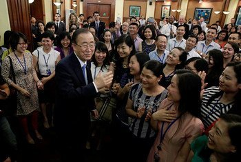 Secretary-General Ban Ki-moon on his visit to the Socialist Republic of Viet Nam.