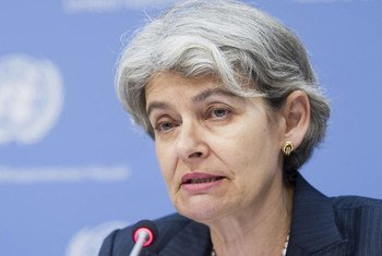 La directora general de la UNESCO Irina Bokova. Foto de archivo: ONU/Mark Garten