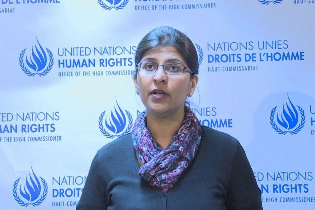 Ravina Shamdasani, msemaji wa ofisi ya haki za binadamu.