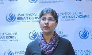 Ravina Shamdasani, porte-parole du Haut-Commissariat des Nations Unies aux droits de l'homme.