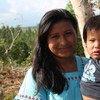 Mujer campesina indígena de Costa Rica. Foto de archivo: ACNUR/M. Rodriguez-Farrelly