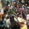 Población desplazada por la violencia en Sudán del Sur. Foto de archivo: ACNUR/R. Riek
